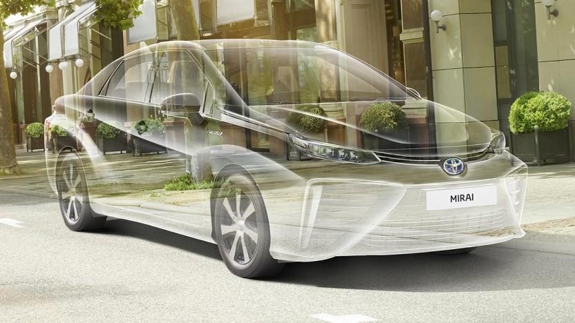 Der Mirai ist das meistverkaufte Brennstoffzellenauto der Welt. Von 2014 bis 2019 wurden 10.000 Stück gebaut.