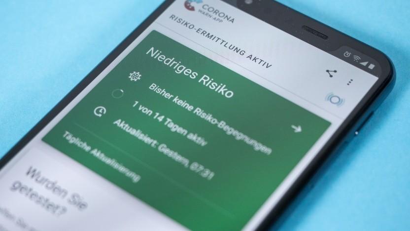 Zum ersten Mal gibt es am Mittwoch Warnungen für einige Nutzer der Corona-Warn-App.