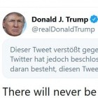 Autonome Zone: Twitter warnt vor weiterer Gewaltandrohung Trumps