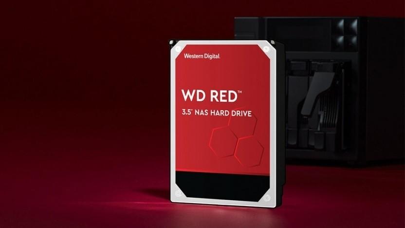 Die WD Red ohne Zusatz wird weiter für NAS-Systeme berworben.