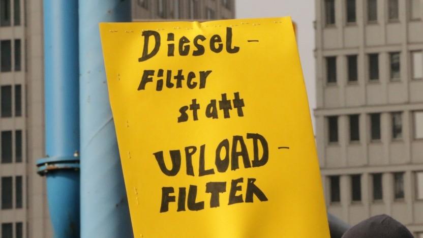Die befürchteten Uploadfilter lassen sich wohl nicht vermeiden.