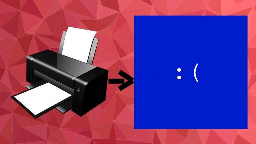 Bei Windows 10 geht es von Druckerproblemen zum Bluescreen.