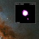 Materiejets aus schwarzem Loch: Schneller als das Licht?