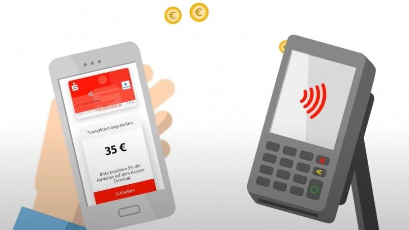 Die Sparkassen-App Mobiles Bezahlen hat ein sinnvolles Update erhalten.