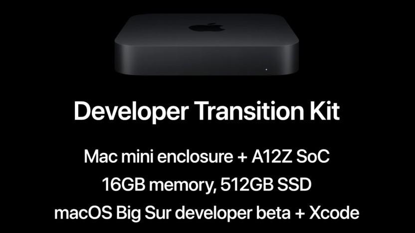 Im Developer Transition Kit steckt ein A12Z.