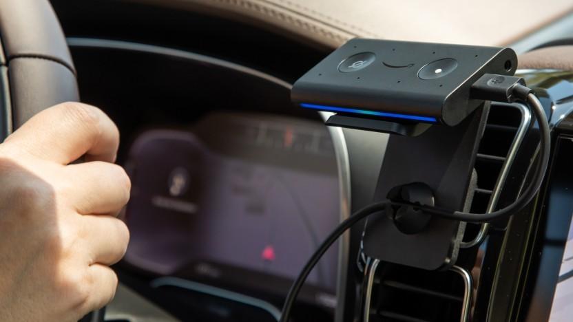 Echo Auto bringt eine gute Sprachsteuerung ins Fahrzeug.