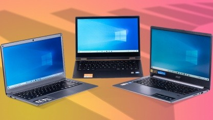 Notebooks Unter 400 Euro Im Test Duell Der Drei Discounter Laptops Golem De