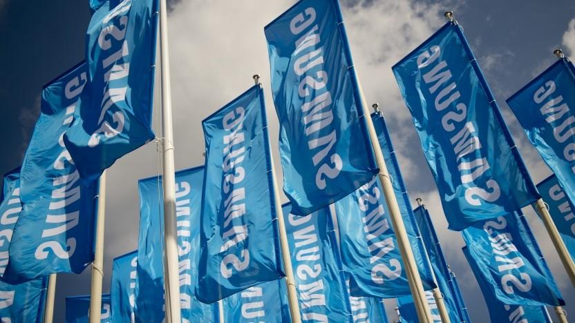 Zur Ifa 2020 werden keine Samsung-Fahnen gehisst.