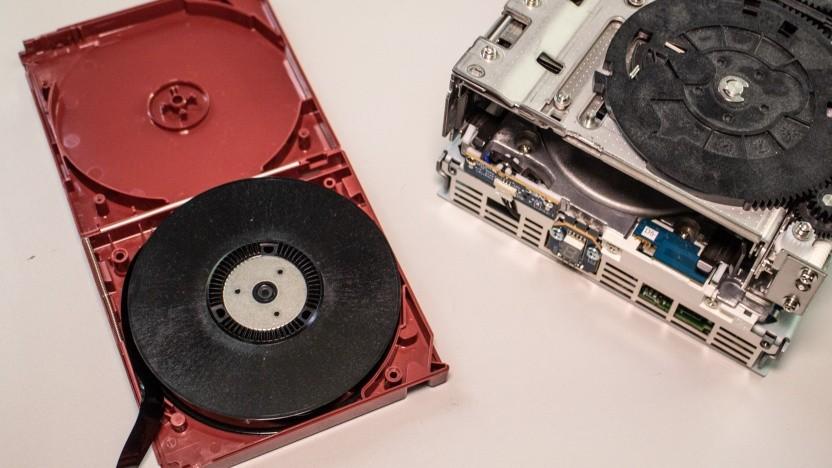 Tape für ein IBM-Bandlaufwerk