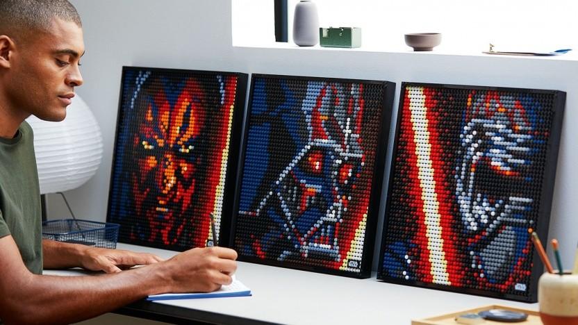 Die Lego-Sets ermöglichen den Bau vieler Motive.
