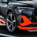 Elektroautos: Audi E-Tron S mit Kamera-Außenspiegeln rund 15 cm schmaler