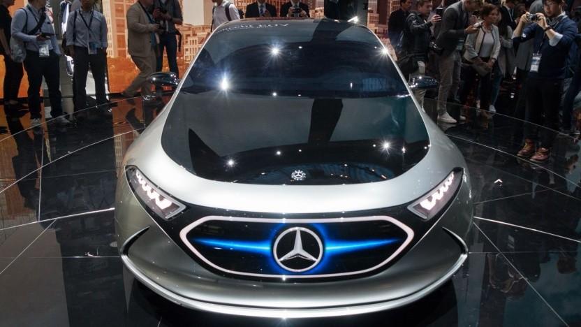 Elektrokonzeptfahrzeug von Mercedes: Energiedichte der Akkus und damit Reichweite von Elektroautos steigern