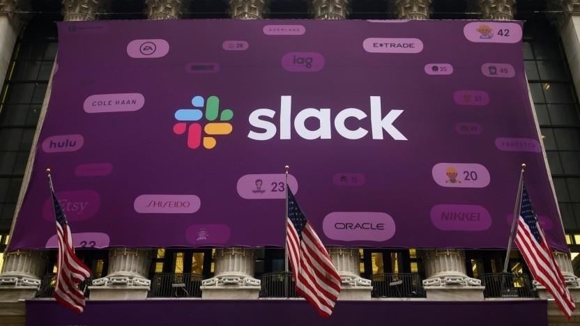 Slack und Microsoft konkurrieren im Bereich der Unternehmenskommunikation.
