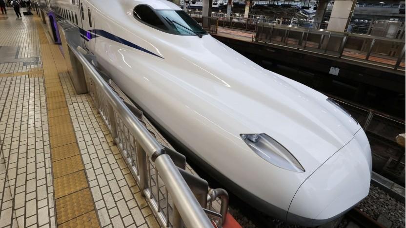 Shinkansen N700S: S steht für Supreme.