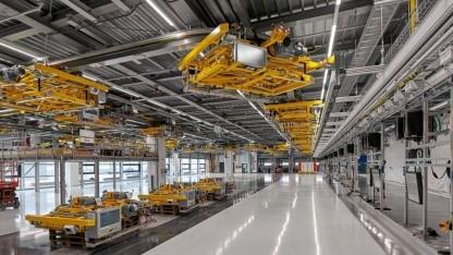 Leipzig: Porsche erweitert Werk für Elektro-Macan - Golem.de