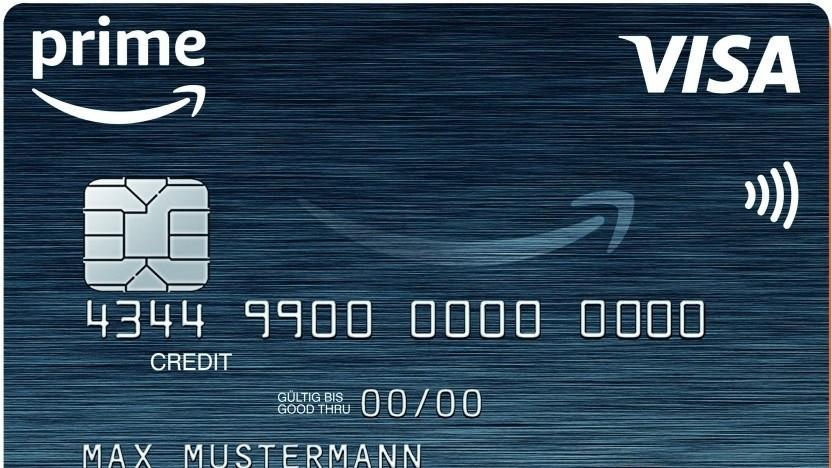 Es gibt eine App für die Visa-Karte von Amazon.