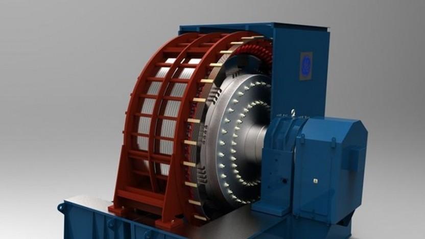 Schwungradspeicher Rotating Stabilizer von GE: Frequenzschwankungen ausgleichen, Stromausfälle verhindern