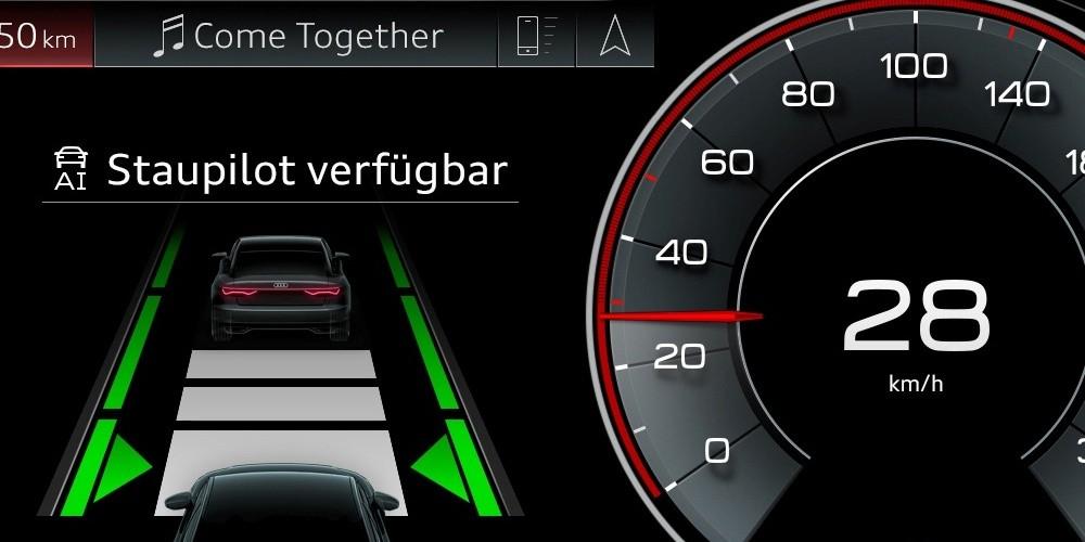 Staupilot: Wie deutsche Hersteller beim autonomen Fahren rumeiern