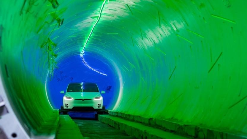 Ein Tunnel der Boring Company