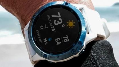 Fenix 6: Garmin lädt weitere Sportuhren mit Solarstrom - Golem.de