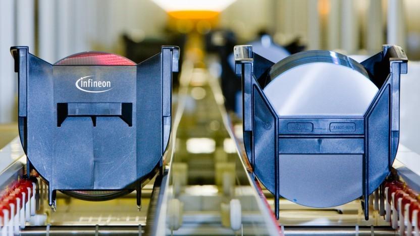 Produktion bei Infineon