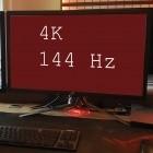Monitore: 4K und 144 Hertz sind kein schlechter Scherz