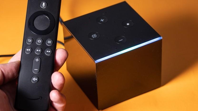 Amazons Fire TV Cube erhält mehr Möglichkeiten bei der Sprachsteuerung.