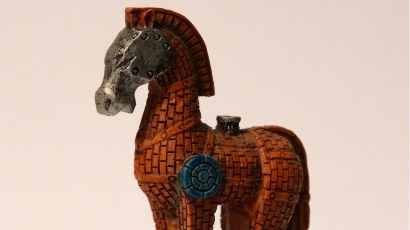 Ein trojanisches Pferd