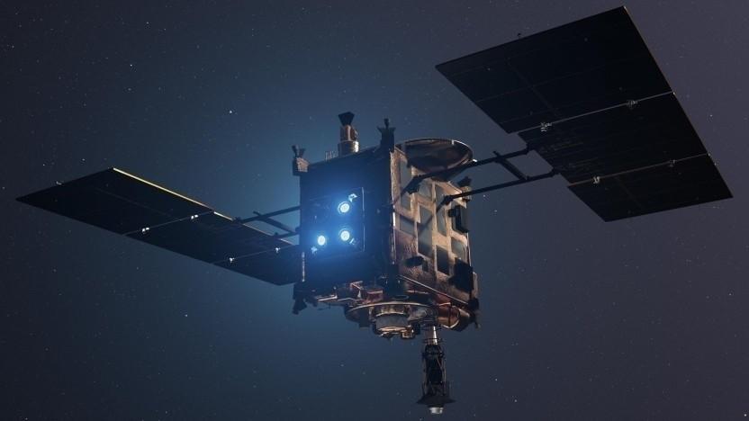 Japanische Raumsonde Hayabusa 2: Schon der Vorgänger setzte seine Proben in Australien ab.