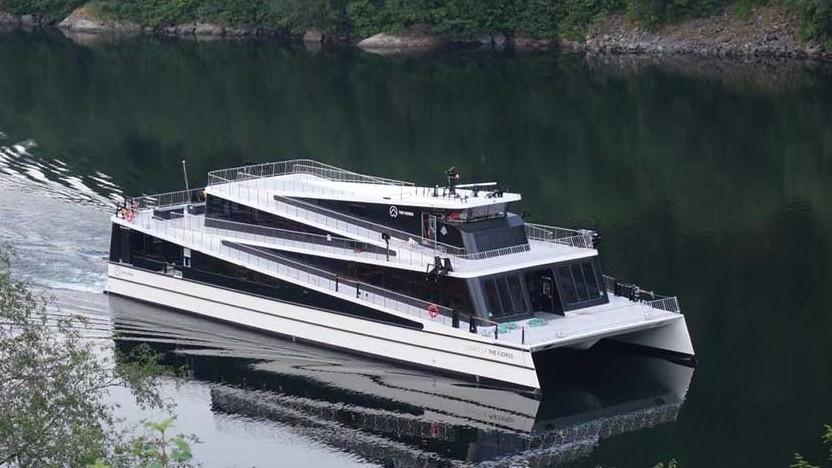 Elektroschiff Legacy of The Fjords: sauber und leise