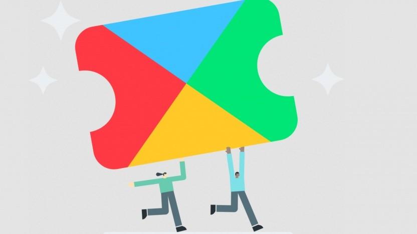 Logo von Google Play Pass