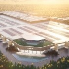 Architekturzeichnung: Elon Musk zeigt Tesla-Fabrik in Grünheide