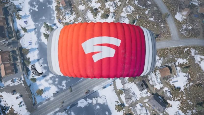 Stadia-Fallschirm in Pubg