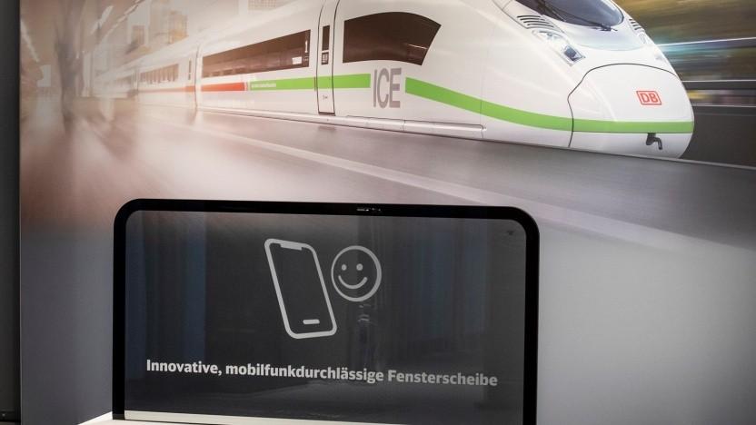 Der ICE 3 der Deutschen Bahn