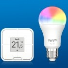 Smart Home: AVM startet Verkauf von Fritz-RGB-Lampe und -Taster
