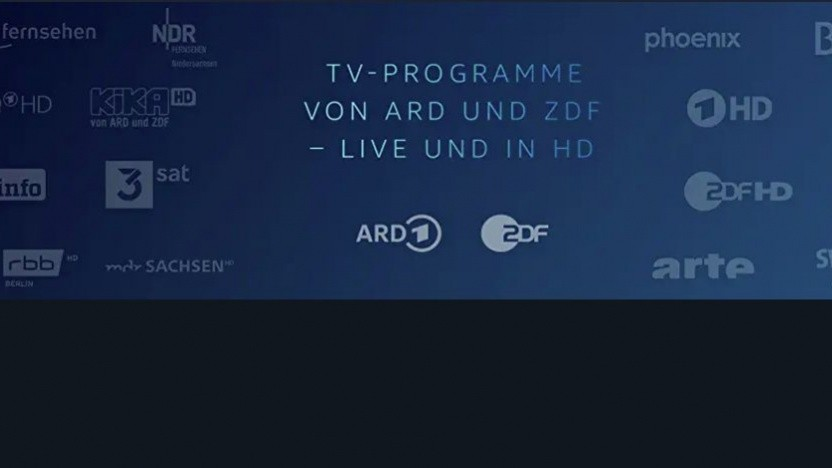 Live-TV-Channel in Prime Video
