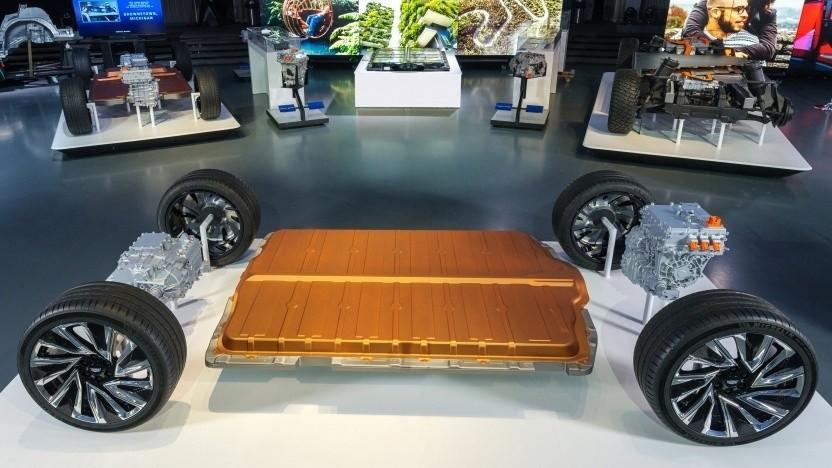 Akkuplattform Ultium von GM: Alle Elektroautos sind im Plan.
