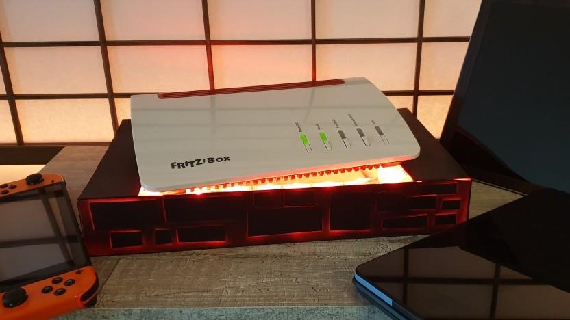 Die Fritzbox 7590 kann jetzt 160-MHz-Kanäle nutzen.