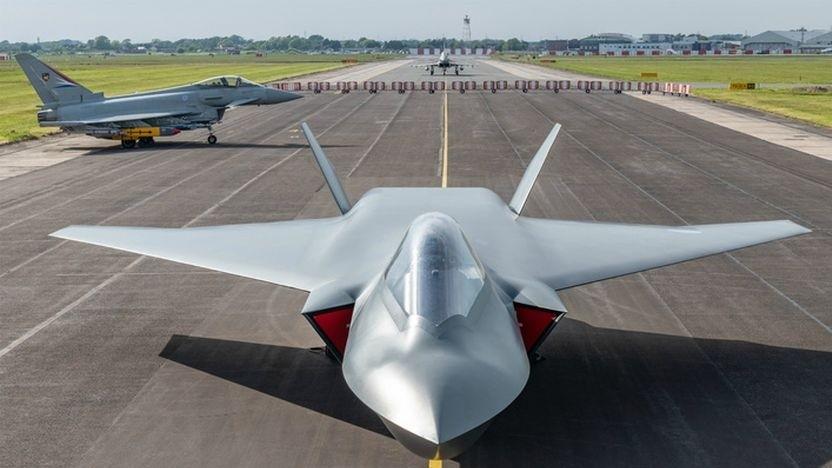 Konzept des Kampfflugzeugs BAE Systems Tempest: Es soll ohne Pilot fliegen können.