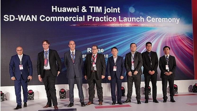 Huawei liefert im Jahr 2018 SD-WAN an TIM
