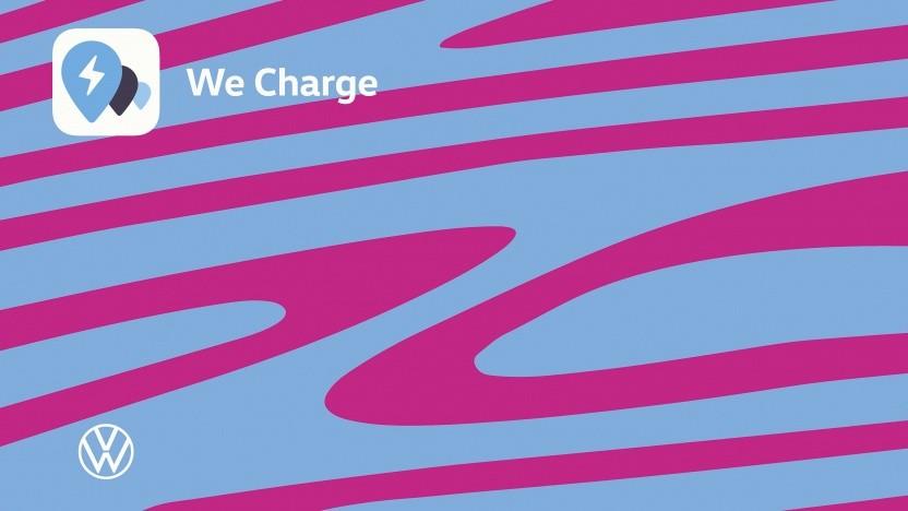 Die Ladekarte von Volkswagen für den Dienst We Charge