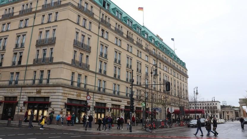 Das Berliner Hotel Adlon trägt seine fünf Sterne zu Recht.