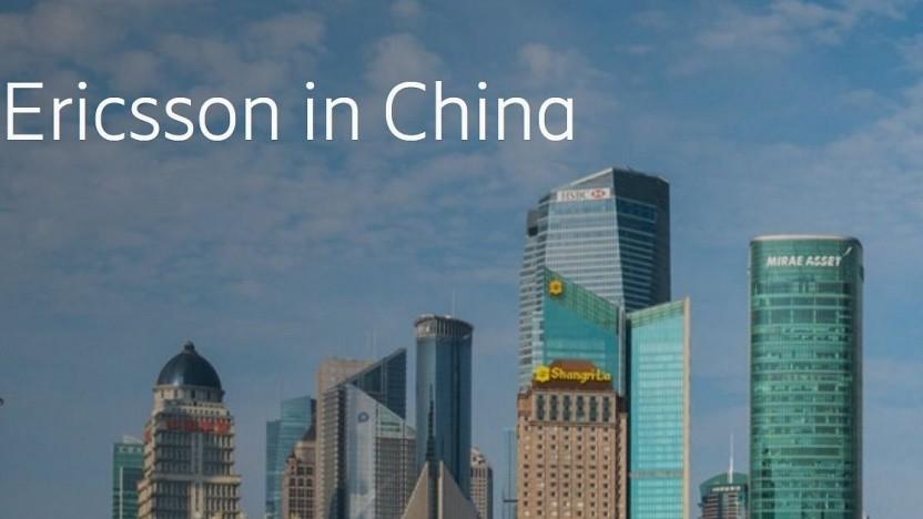 Ericsson nennt einige seiner Niederlassungen in China