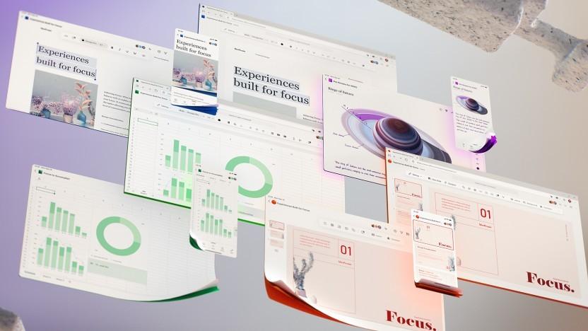 Übersicht über die Office-Programme in neuer Optik