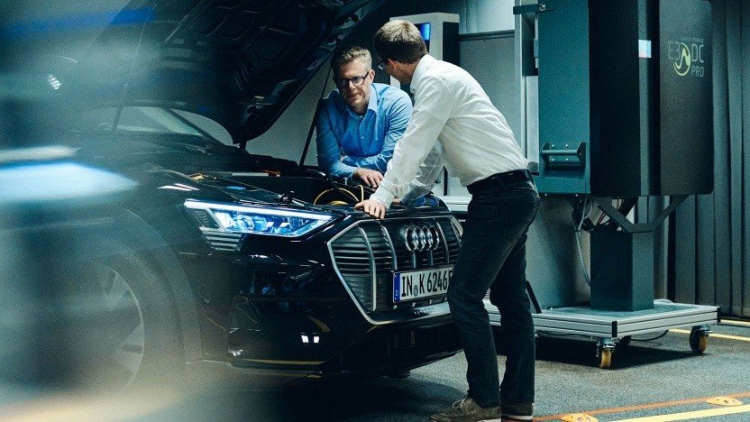 """Audi als Stromspeicher: """"Für den Kunden ist die Bedienung denkbar einfach."""""""