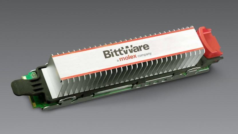 Ein M.2-Modul mit FPGA als Beschleuniger