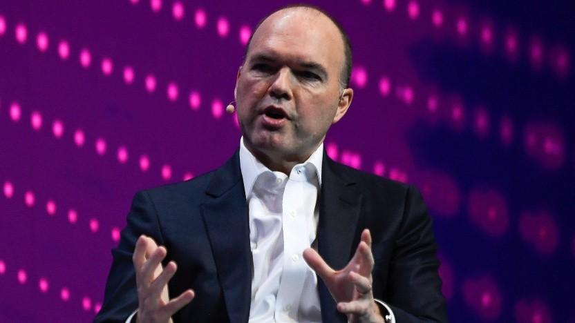 Nick Read, der Chef des Vodafone-Konzerns, im Jahr 2019