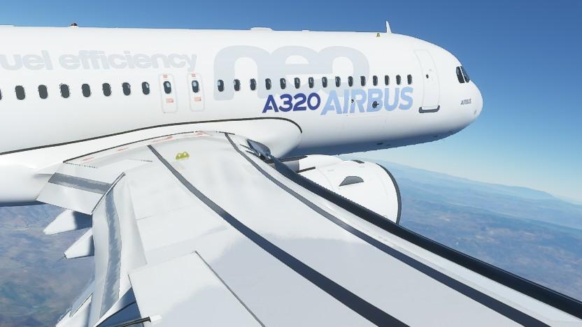 Der von Golem.de gesteuerte A320neo