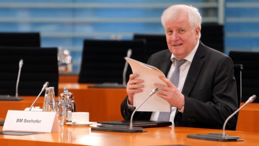 Bundesinnenminister Host Seehofer will mehr Daten auf Vorrat.