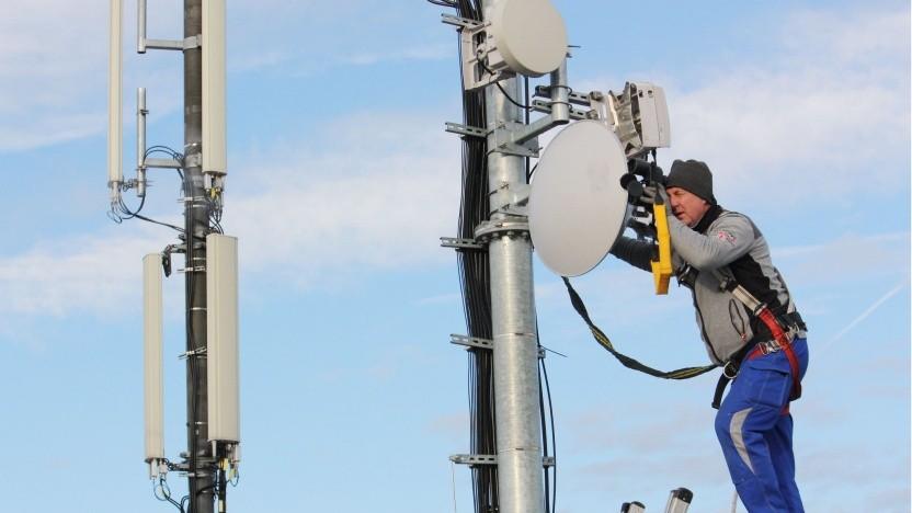 Richtfunkausbau als Backhaul: Telefónica Deutschland